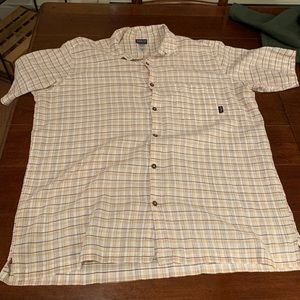 Men's XXL Patagonia button up short sleeve